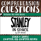 Reading Comprehension Questions   Stanley in Space
