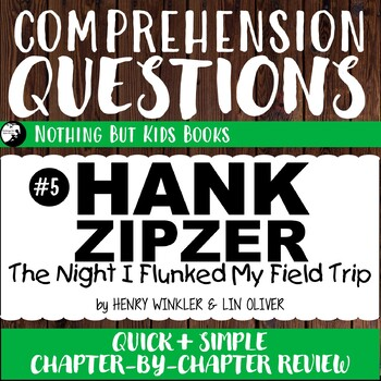 Reading Comprehension Questions | The Night I Flunked My Field Trip