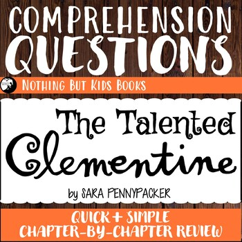Reading Comprehension Questions | The Talented Clementine