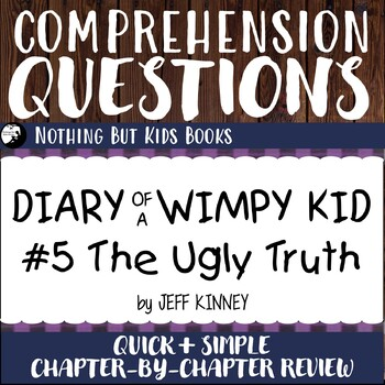 Reading Comprehension Questions for Diary of a Wimpy Kid #5