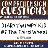 Reading Comprehension Questions | Diary of a Wimpy Kid #7