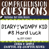 Reading Comprehension Questions | Diary of a Wimpy Kid #8