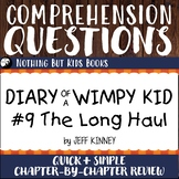 Reading Comprehension Questions | Diary of a Wimpy Kid #9