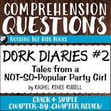 Reading Comprehension Questions | Dork Diaries #2
