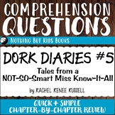 Reading Comprehension Questions | Dork Diaries #5