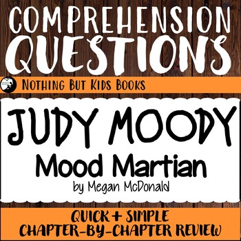 Reading Comprehension Questions   Judy Moody #12