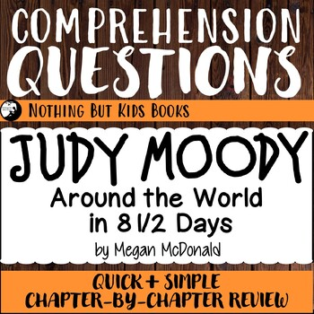 Reading Comprehension Questions for Judy Moody #7