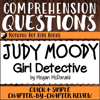 Reading Comprehension Questions for Judy Moody #9