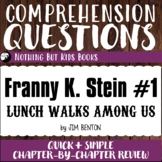 Reading Comprehension Questions | Franny K. Stein #1