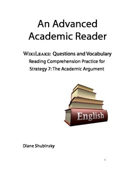 Reading Comprehension Questions for Strategy 7: The Academic Argument