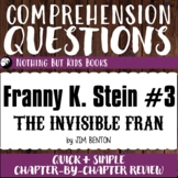 Reading Comprehension Questions | Franny K. Stein #3