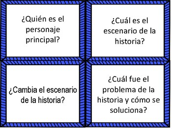 Reading Comprehension Questions in Spanish