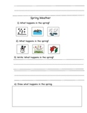 Reading Comprehension Questions with Words or Writing Using A to Z books