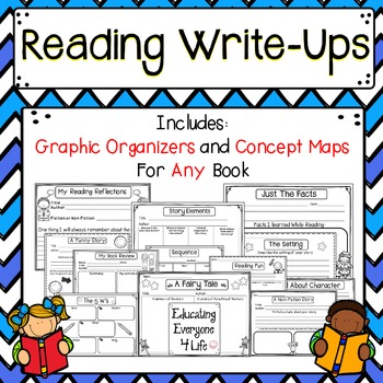 Reading Write-Ups {Graphic Organizers and Concept Maps}