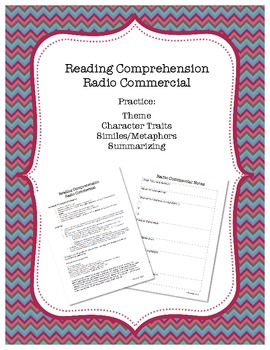 Reading Comprehension Radio Commercial