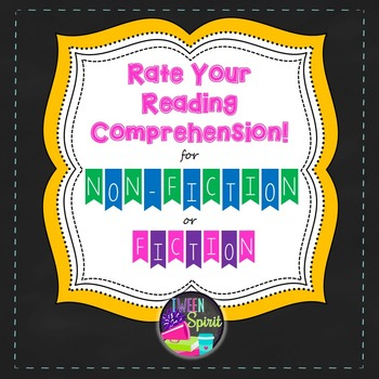 Reading Apprenticeship Style Activity: Rate Your Reading Comprehension
