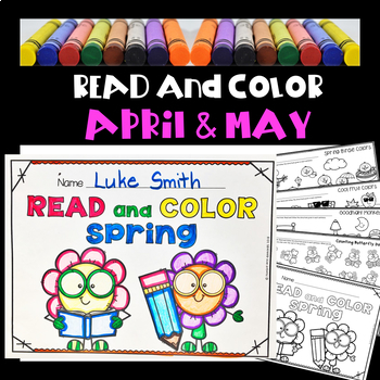 Read and Color - Coloring With a Purpose