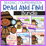 Reading Comprehension - Read and Find Growing Bundle