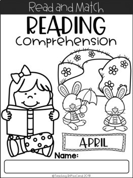 Reading Comprehension Read and Match (THE BUNDLE)