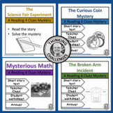 Comprehension Reading 4 Clues Bundle Reading Mysteries