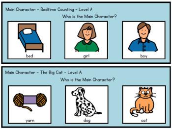 Reading Comprehension - Reading A-Z  Level A Bundle
