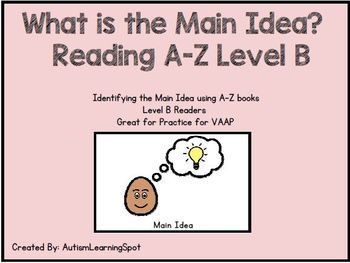 Reading Comprehension - Reading A-Z Level B Bundle