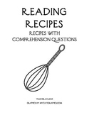 Reading Comprehension - Recipes