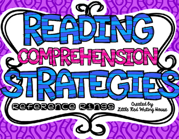 Reading Comprehension Reference Rings