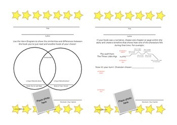 Reading Comprehension, Reflection & Reviewing Worksheets | THINKING STRATEGIES |