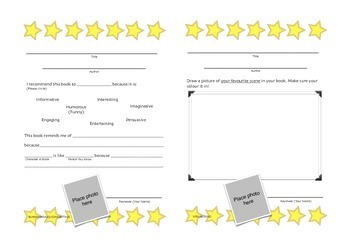 Reading Comprehension, Reflection & Reviewing Worksheets   THINKING STRATEGIES  