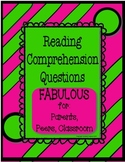 Reading Comprehension Reinforcement