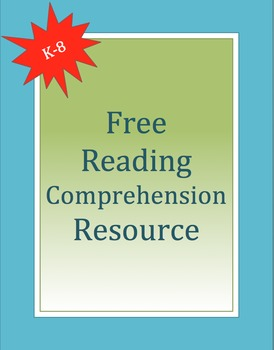 Reading Comprehension Resource K-8: ReadWorks.org