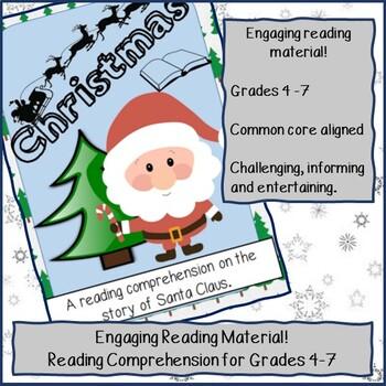 Reading Comprehension - Santa Claus