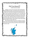 Reading Comprehension: Scottish Lairds and Ladies
