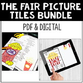 Reading Comprehension Secret Picture Tiles Bundle Distance