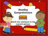 Reading Comprehension Sentence Match