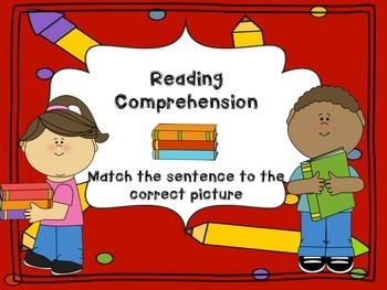 Reading Comprehension Sentence Match