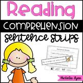 Reading Comprehension Sentence Strips