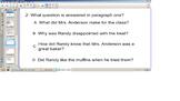 Reading Comprehension Senteo Test, Main idea,details, narrative elements,Sol Rev