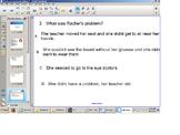 Reading Comprehension Senteo Test, Narrative elements, Main idea, SOL Practice