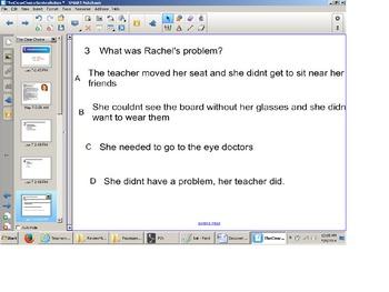 Reading Comprehension Senteo Test, Narrative elements, Mai