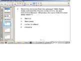 Reading Comprehension Senteo test, nonfiction passage,SOL Review, test prep