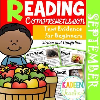 Reading Comprehension:September