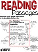 Reading Comprehension Passages ~ Sequencing