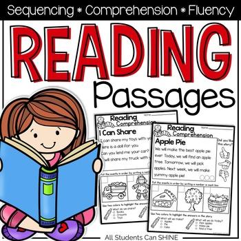 Reading Comprehension - Sequencing
