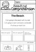 Reading Comprehension Cut & Paste (Set 1)