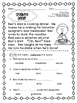 Reading Comprehension Sheets {15 Passages for Early Readers}