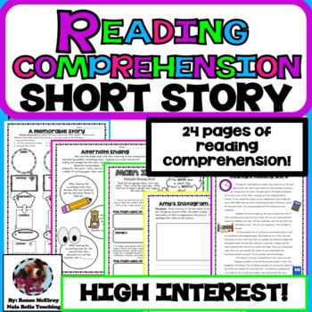 Reading Comprehension Short Story