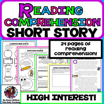 Reading Comprehension Passage Short Story