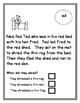 Reading Comprehension  Short vowel e sound